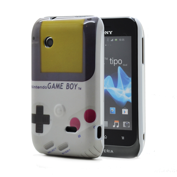 Skal till sony xperia tipo st21i – gameboy