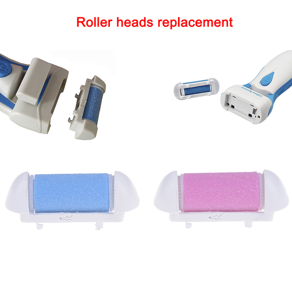 1pc roller grinding head replacement feet dead skin removal pedi