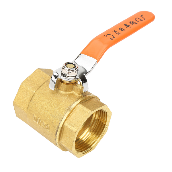 1pc dn32 1-1/4bsp brass pipe ball valve 1.6mpa for water oil