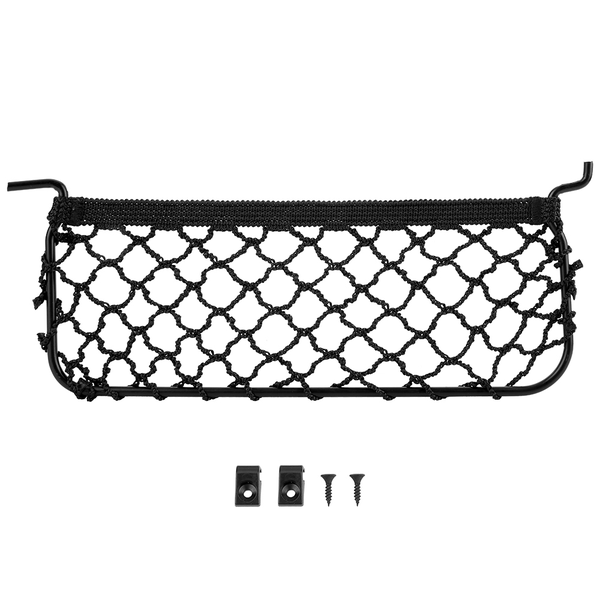 Car rear trunk right side pocket cargo net mesh luggage orga