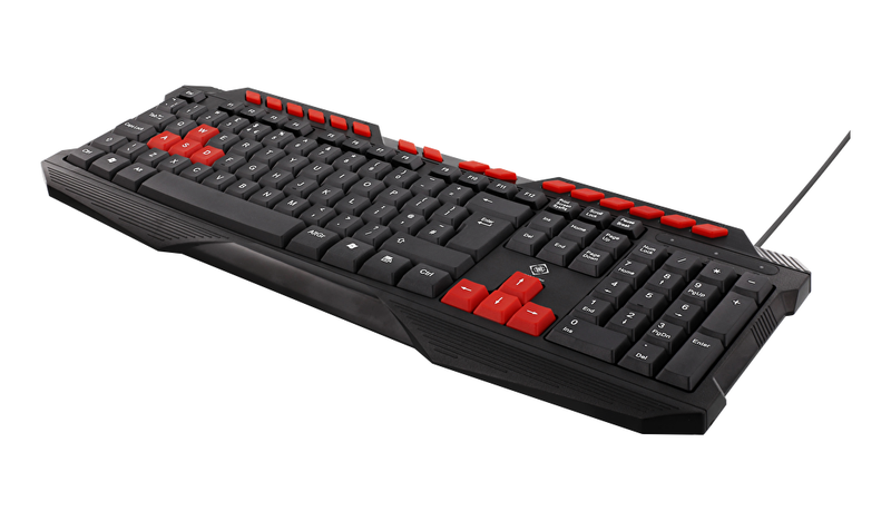 Deltaco gaming keyboard anti-ghosting but uk layout