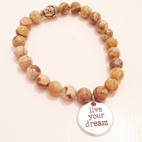 Live your dream armband