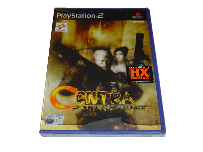 Contra shattered soldier sony playstation 2 ps2