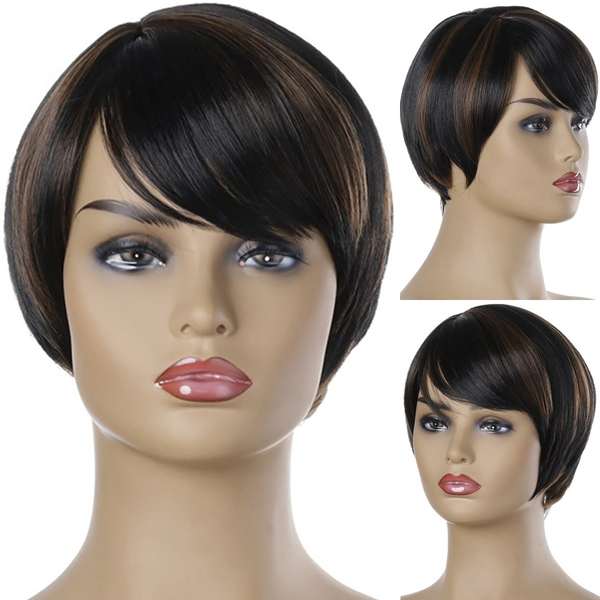 Women fashion cosplay party wigs synthetic