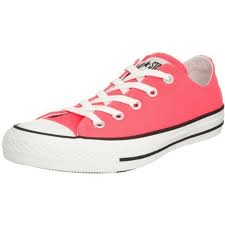 Converse all star neon pink