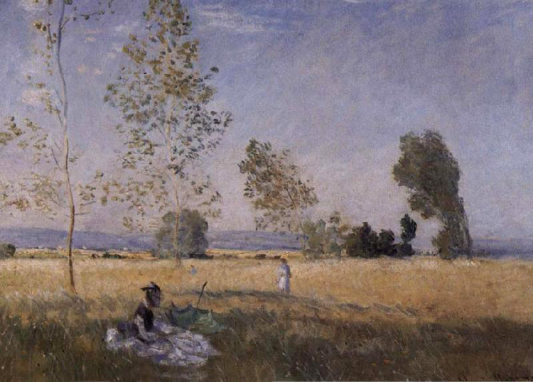 Summer,Claude Monet,57x80cm