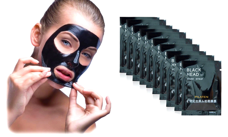 Pilates blackhead ansikstmask 10-pack