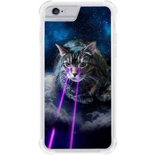 Apple iphone 6 / 6s tough case space cat eye