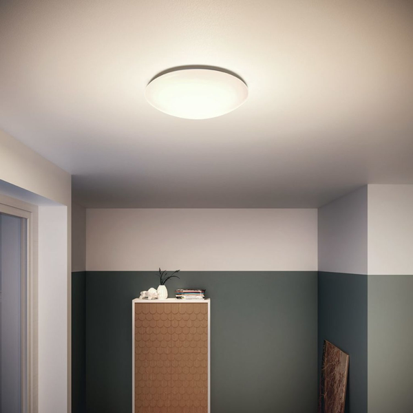 Philips LED-taklampa myLiving Suede vit 4x3 W 318013116 318013116 318013116 5923b8
