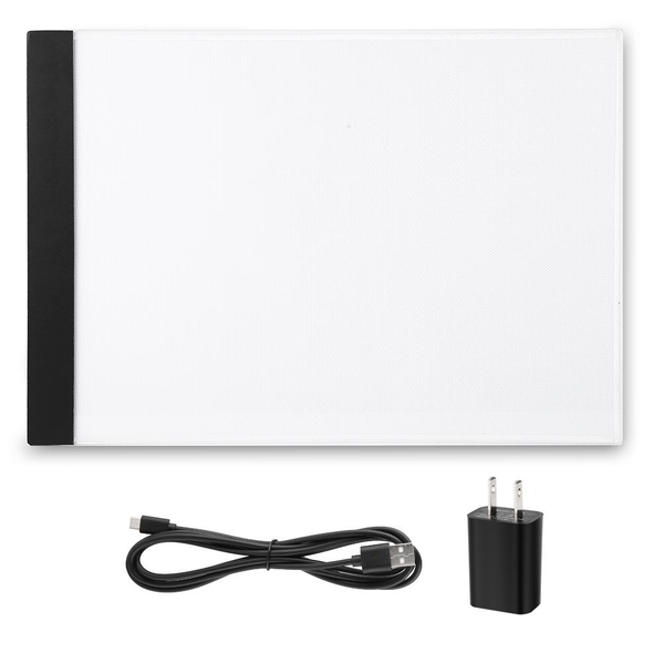 1pc a4 led art stencil board light pad tracing drawing table