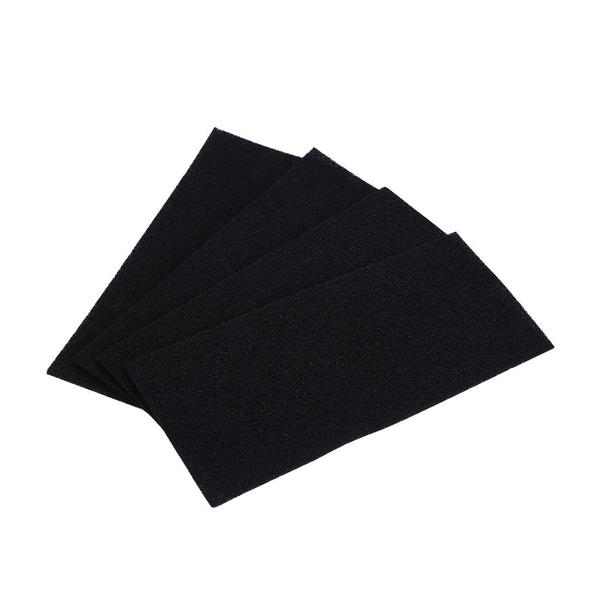 4 replacement carbon sponge filters for holmes total air pur