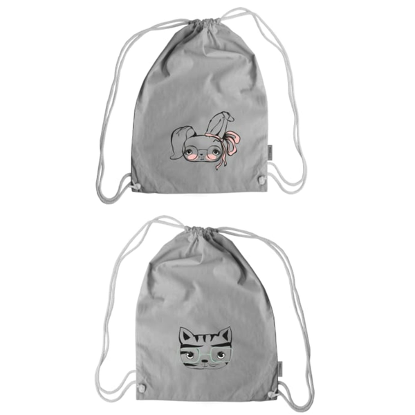 On Interior Drawstring Bag Jumpy 28x36 Sosa