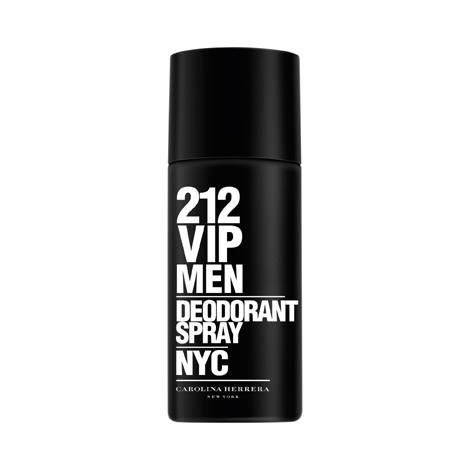 Carolina herrera 212 vip for men deo spray 150ml