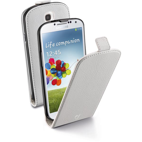 Cellularline flap essential fodral i eco-läder för samsung galax
