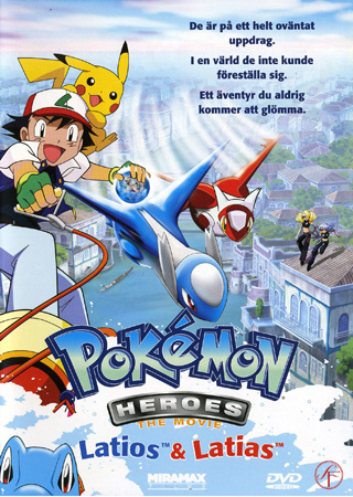 Pokemon heroes – latios & latias -dvd