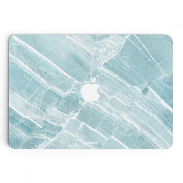 Macbook air 11 skin – ice blue marble