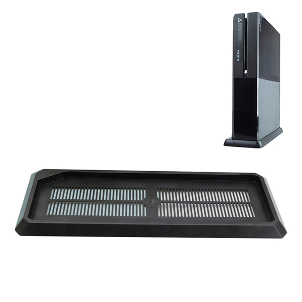 Vertical stand mount holder base cooling vents for xbox one
