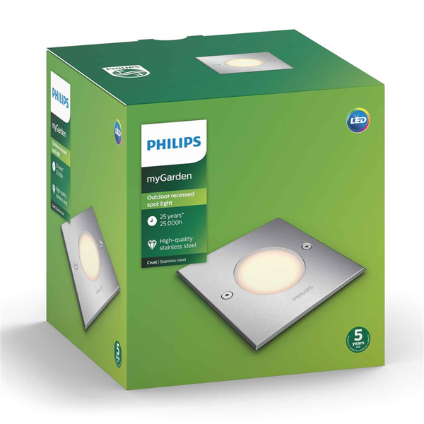 Philips Crust markspot 1x3W 1x3W 1x3W LED 230V 2d4999
