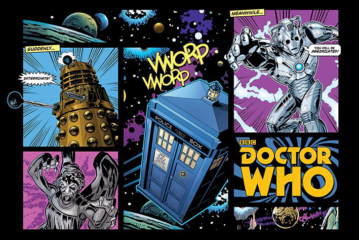 Doctor Who - Comic Layout