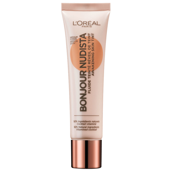 L'oreal bonjour nudista awakening skin tint bb cream medium dark