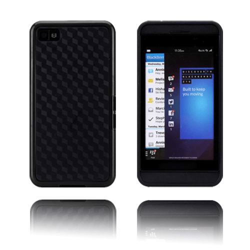 Edge (svart) blackberry z10 skal