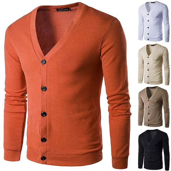European us autumn trendy male knitted sweater