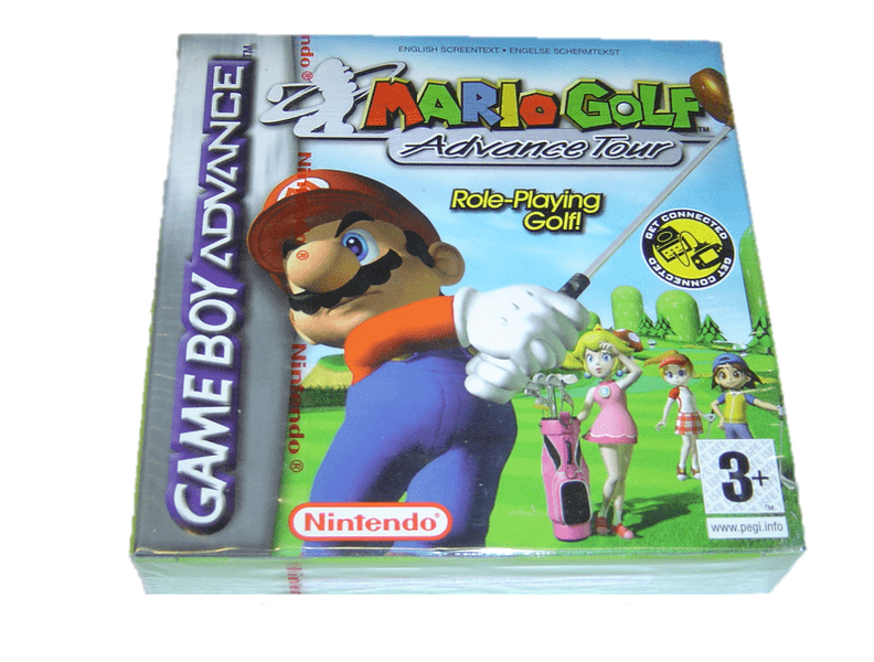 Mario golf advance tour nintendo gameboy advance gba