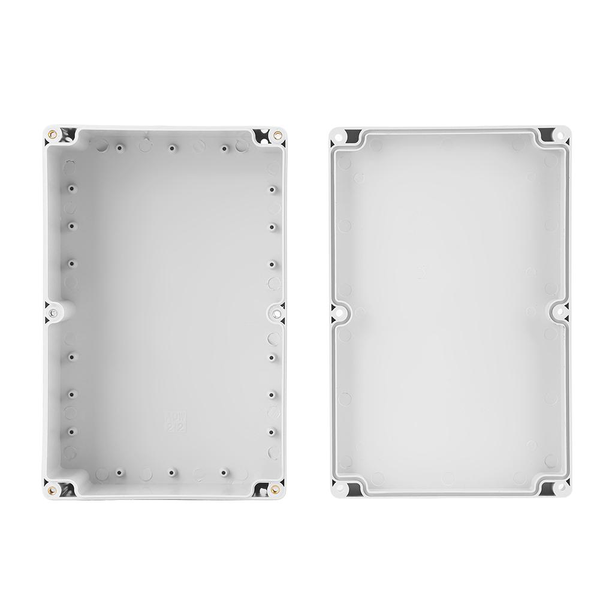 230*150*85mm water-resistant white plastic enclosure proj