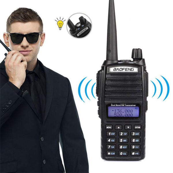 Baofeng walkie talkie uv-82 8w dual band