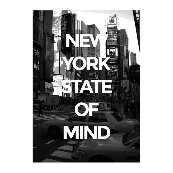New York State of Mind Times Times Times Square 33x48cm 34ca30