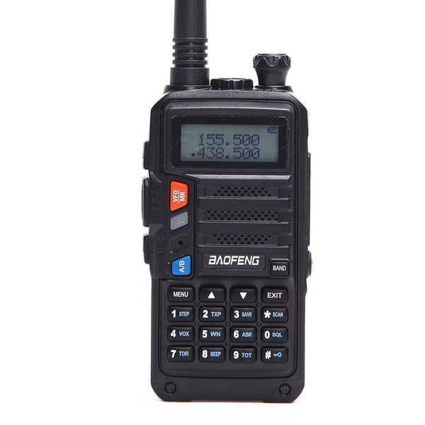 Walkie talkie baofeng uv-s9 – svart