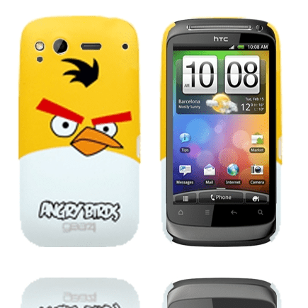 Angry birds (gul) htc desire s skal
