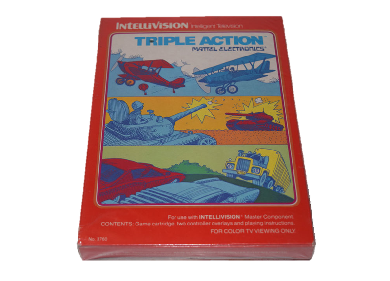 Triple action intellivision
