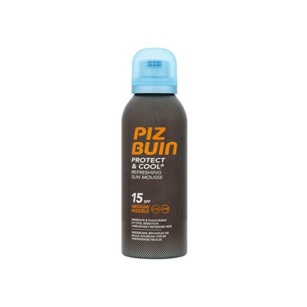 Solskydd protect & cool piz buin spf 15 (150 ml)