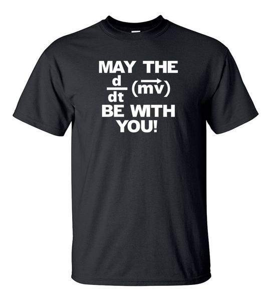 T-shirt - May The Force Be With You - HERR