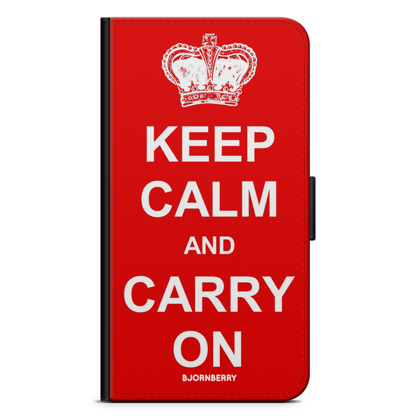 Bjornberry fodral huawei p20 pro – keep calm carry on