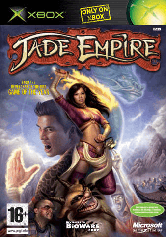 jade empire – xbox