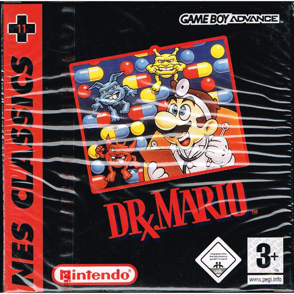 Dr mario nes classics gameboy advance