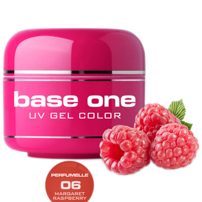 Base one – uv gel – perfumelle – margaret raspberry – 06 – 5g