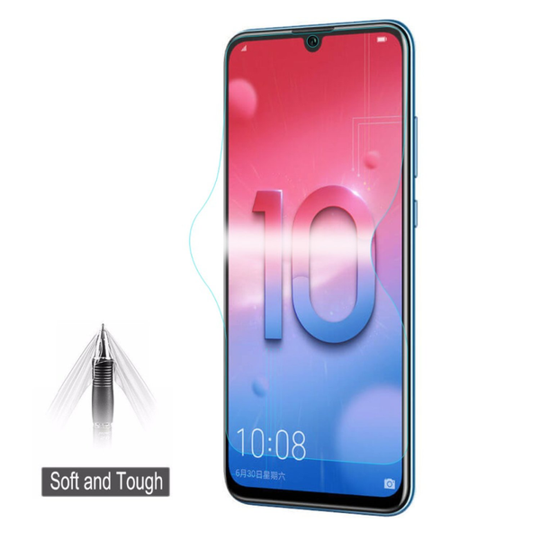 Hat prince soft screen protector film huawei honor 10 lite / p s