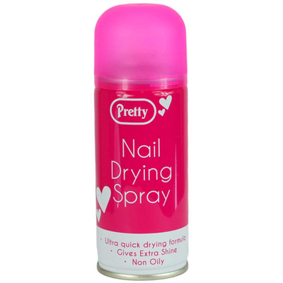 Nail drying spray – pretty