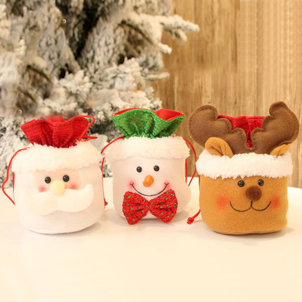 Candy bags gift storage apple container christmas tree decor