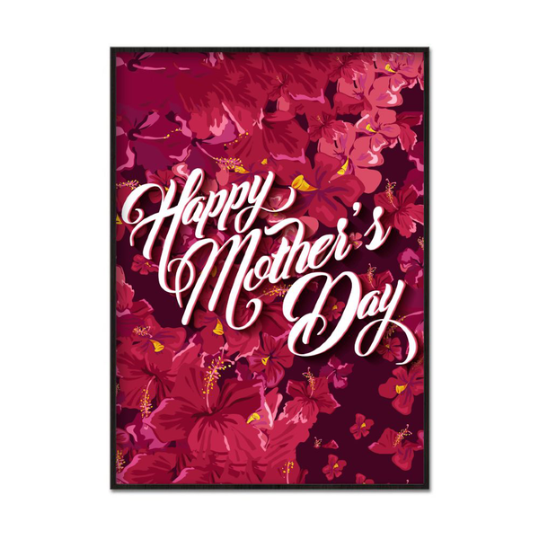Poster A3 30x42cm Mother's Day Flowers