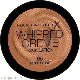 Whipped creme foundation 65 rose beige 18ml by max factor