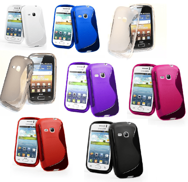 S-line skal samsung galaxy young (s6310)