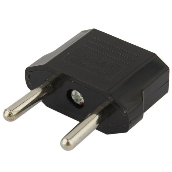 Adapter us plug till eu reseadapter