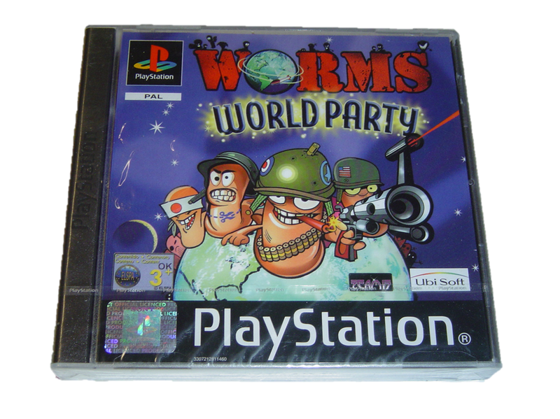 Worms world party sony playstation