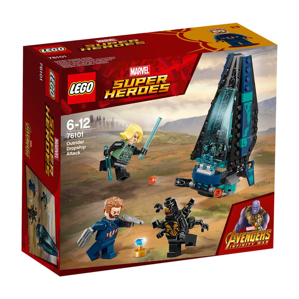 LEGO® Super Heroes Outrider Dropship-attack 76101