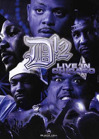 D12 – live in chicago – (dvd)