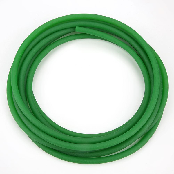 Green rough surface pu polyurethane round belt for drive tra